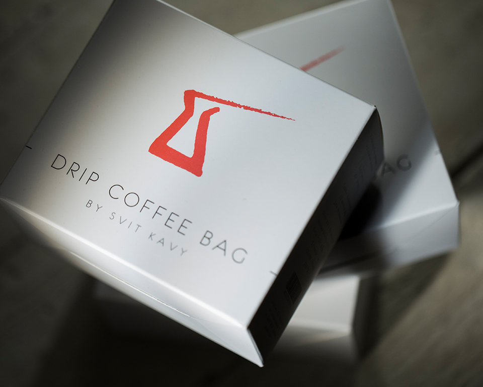 A drip coffee package